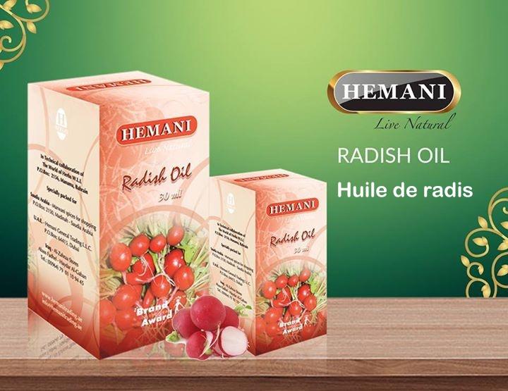 huile de radis