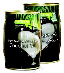 Sri Lankan coconut oil