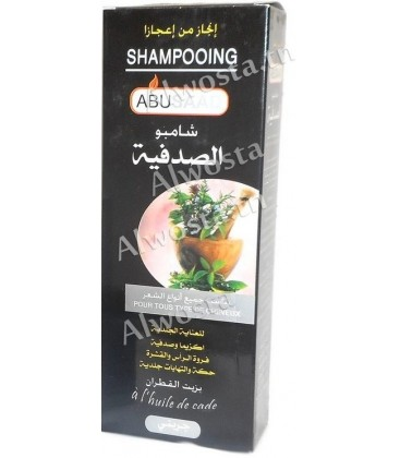 Shampoo with cade oil