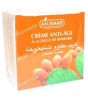 Crème anti âge à la figue de barbarie