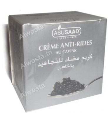 Anti-wrinkle cream with caviar extracts