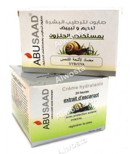 Snail cream and soap ABUSAAD