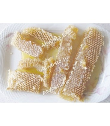 Honey in beeswax