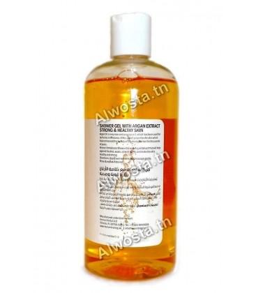 Gel douche aux extraits d'argan