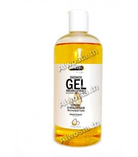Shower gel with argan extracts