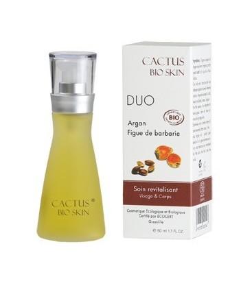 Duo huile d'argan et huile pépins de figue de barbarie
