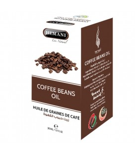 coffee beans oil