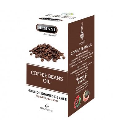 coffee beans oil