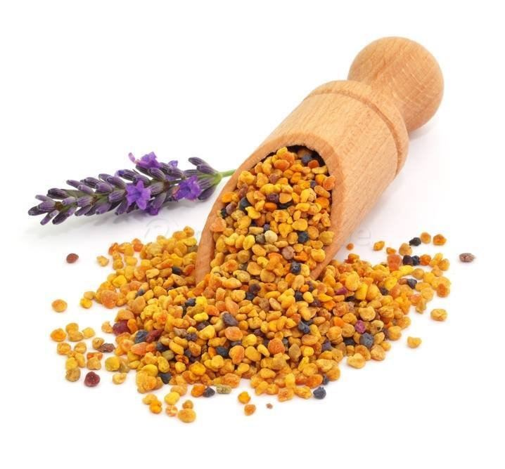 حبوب اللقاح grains de pollen d'abeille
