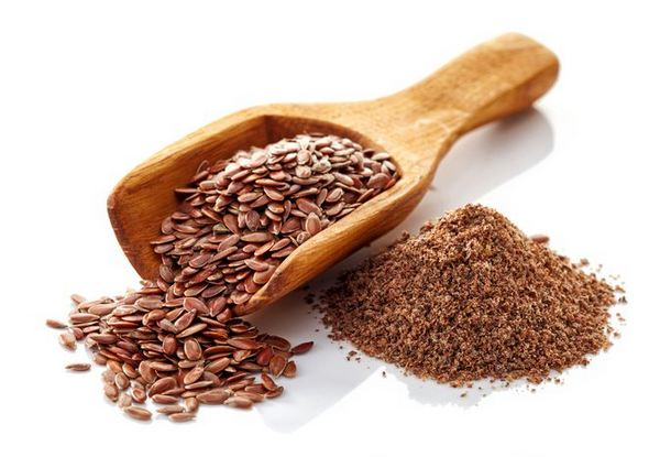 Use of flaxseeds