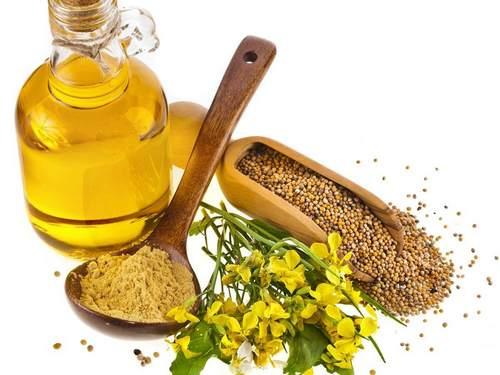 huile de moutarde زيت الخردل وفوائده فوائد